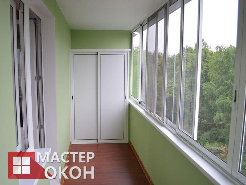 Остекление балконов в Северске, Застелить балкон под ключ с утеплением и отделкой. Самые низкие цены на остекление балконов и лоджий в Северске. Скидки!